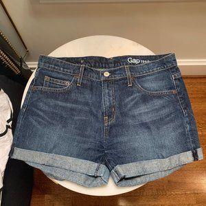 GAP Jean Shorts with Cuffed Hem